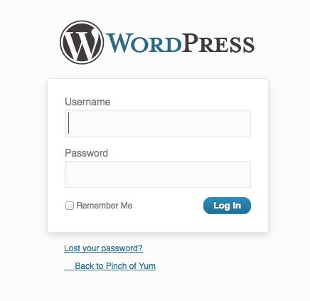 wordpress-login-screen